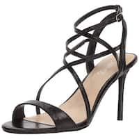 Carlos by Carlos Santana Womens danika Open Toe Ankle Strap Classic Pumps