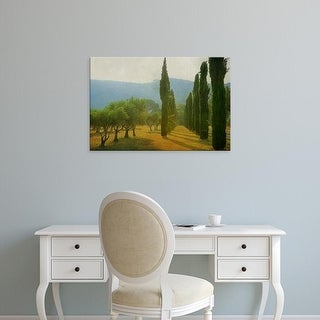Easy Art Prints Lars Van de Goor's 'Cypress Shadows' Premium Canvas Art