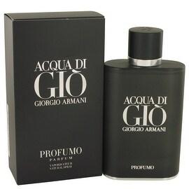 Acqua Di Gio Profumo by Giorgio Armani Eau De Parfum Spray 4.2 oz - Men