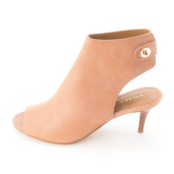 Shop Coach Women s Marietta Turnlock Booties - Free Shipping Today ...