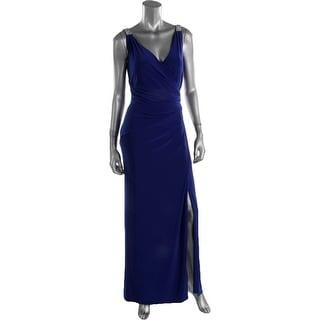 Lauren Ralph Lauren Womens matte Jersey Prom Evening Dress