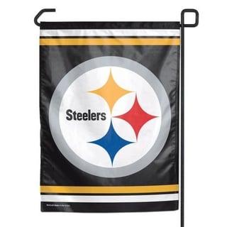 Pittsburgh Steelers Garden Flag 11x15