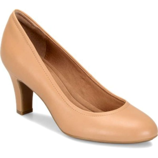 Sofft Womens Turin Leather Closed Toe Classic Pumps