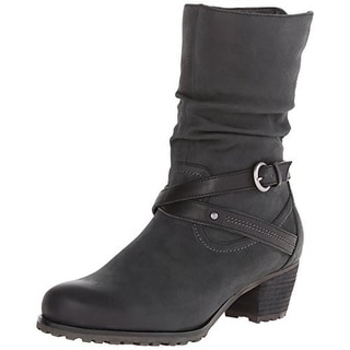 Blondo Womens Robin Ankle Boots Leather Slouchy