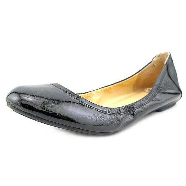 8a501d0d7e1a Shop Cole Haan Manhattan Ballet Women Black Patent Flats - Free ...