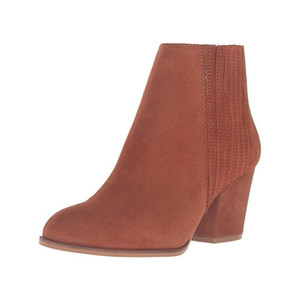 Steven By Steve Madden Womens Harleigh Ankle Boots Suede