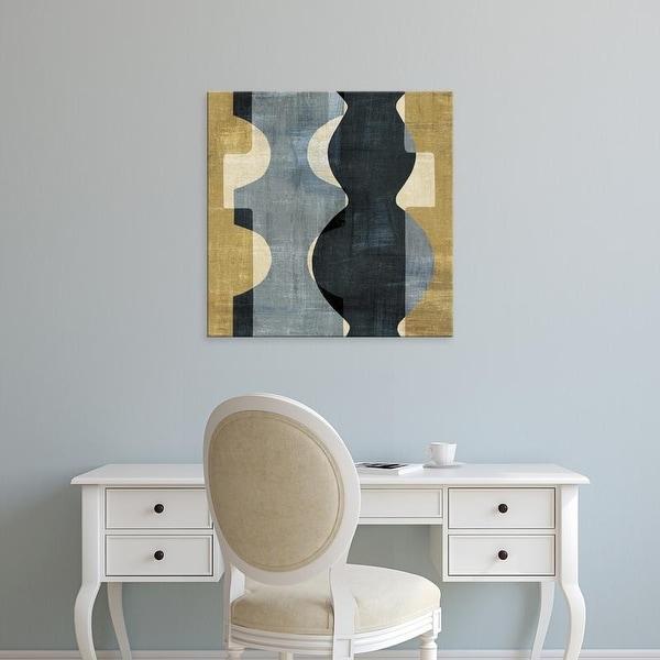Easy Art Prints 's 'Geometric Deco II' Premium Canvas Art