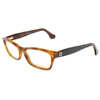 Balenciaga BA5012/V 053 Caramel Havana/Black Rectangular Opticals - 53-16-140