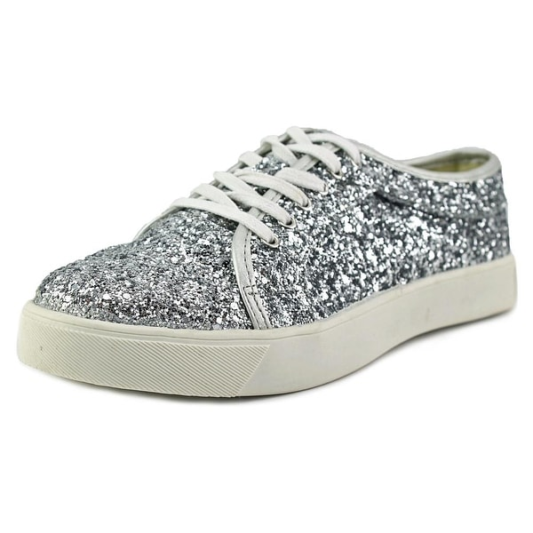 Dirty Laundry Elton Women Canvas Silver Fashion Sneakers