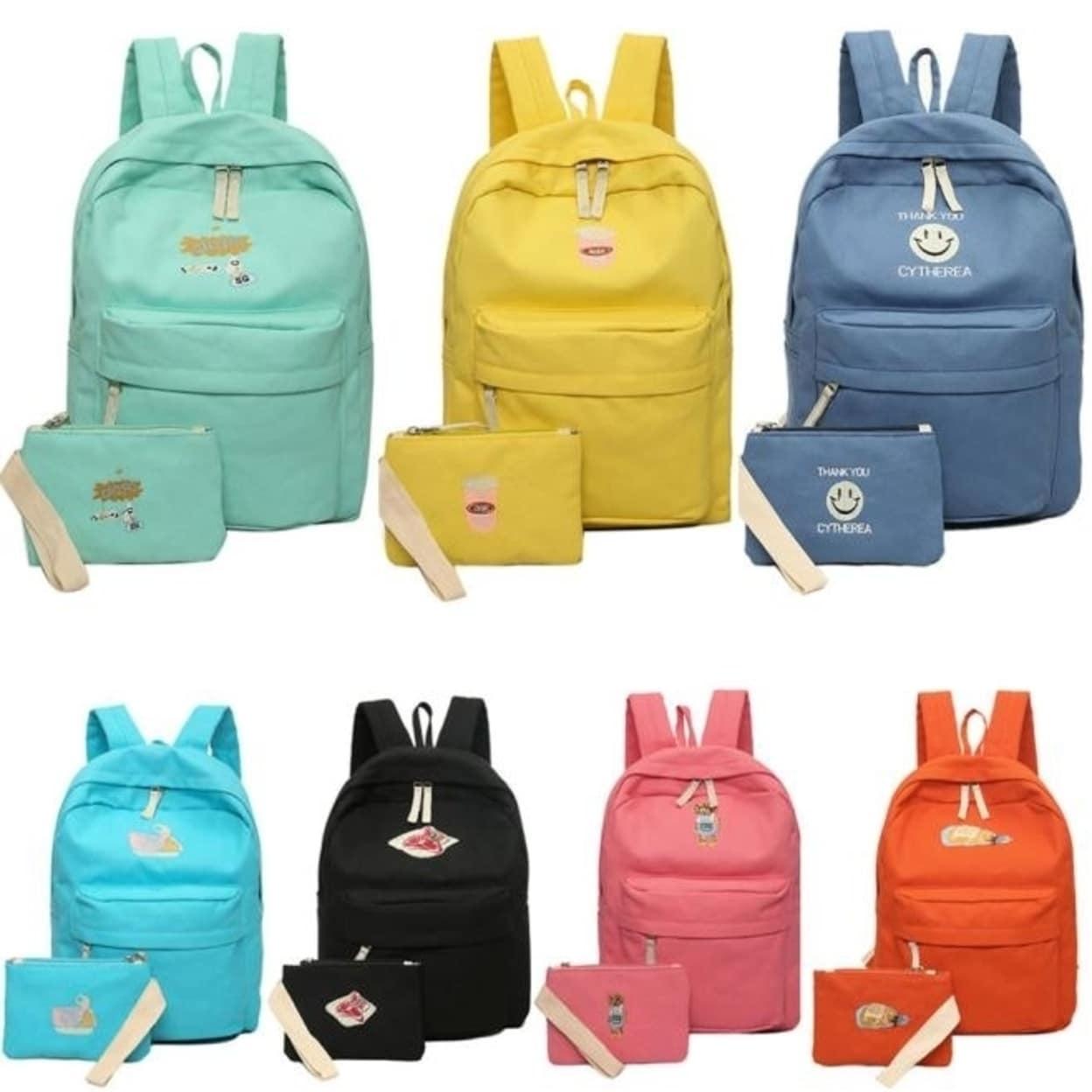 Women bags Rucksack Canvas Travel bags Backpack Girl School Fashion Shoulder Bag