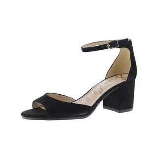 Sam Edelman Womens Susie Dress Sandals Block Heel