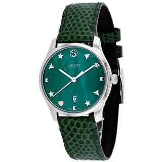 76d3ae20f1d Gucci Women s Champagne Watch - YA143509 · Quick View