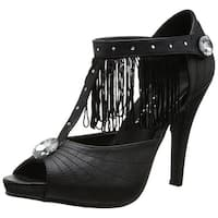 Jazzy Women's Costume Sandals, Black