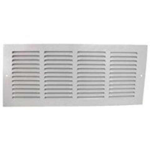 "Mintcraft 1RA1406 Air Return Grille, 14"" x 6"", White"