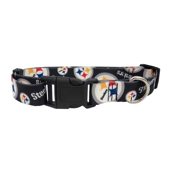 Shop Pittsburgh Steelers Pet Collar Size S - Free Shipping On Orders Over   45 - - 23848530 6a85fff79