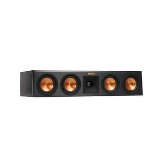 Klipsch RP-440C-E Ebony Center Channel Speaker