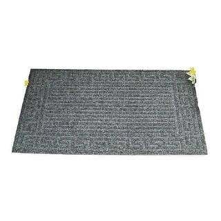 Simple Spaces 06ABSHE-02-3L Crumb Rubber Door Mat, 18