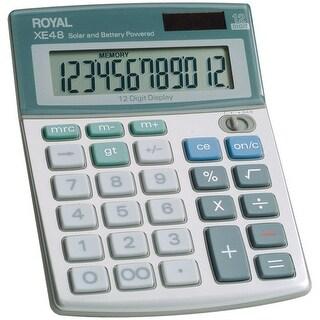 Royal 29306S Compact Desktop Solar 12-Digit Calculator