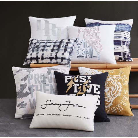 Sean John Fashion Decorative Pillows