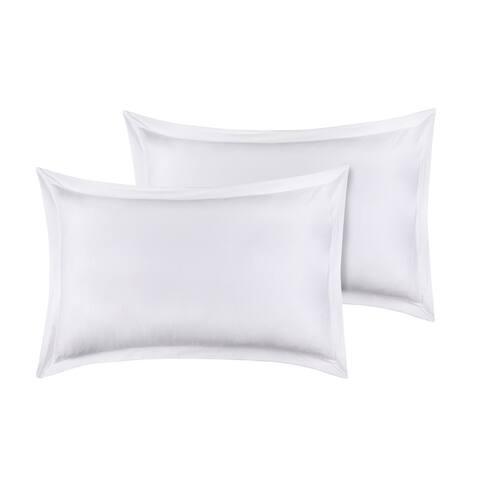 Organic Cotton Sham Pair 300TC GOTS Certified Super Soft & Breathable Fabric