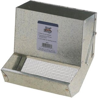 """Pet Lodge AF7S Feeder With Sifter Bottom Without Lid, 7"""""""