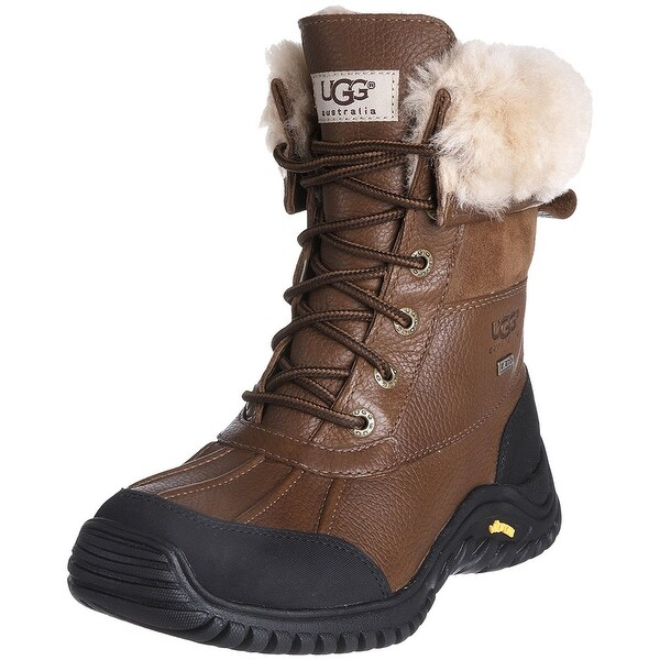 Ugg Womens Adirondack II Closed Toe Mid-Calf Cold Weather Boots