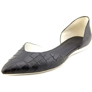 Vince Tara Pointed Toe Leather Flats