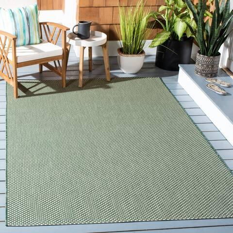 SAFAVIEH Courtyard Jetty Indoor/ Outdoor Patio Backyard Rug