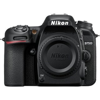 Nikon D7500 DX-format DSLR Camera (Body Only / Black)