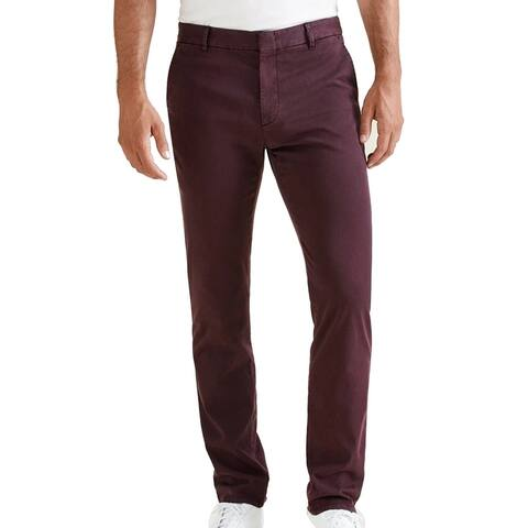 Zachary Prell Mens Aster Pants Purple Size 40x33 Straight Leg Stretch