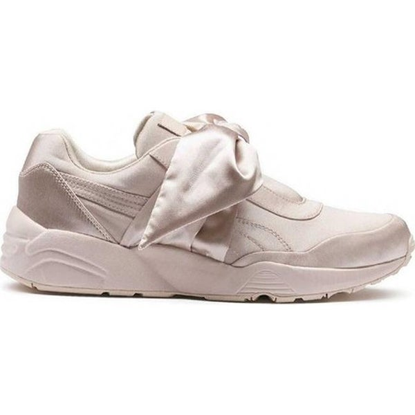 7843ea24a59 Shop FENTY PUMA by Rihanna Women s Bow Sneaker Pink Tint Pink Tint ...