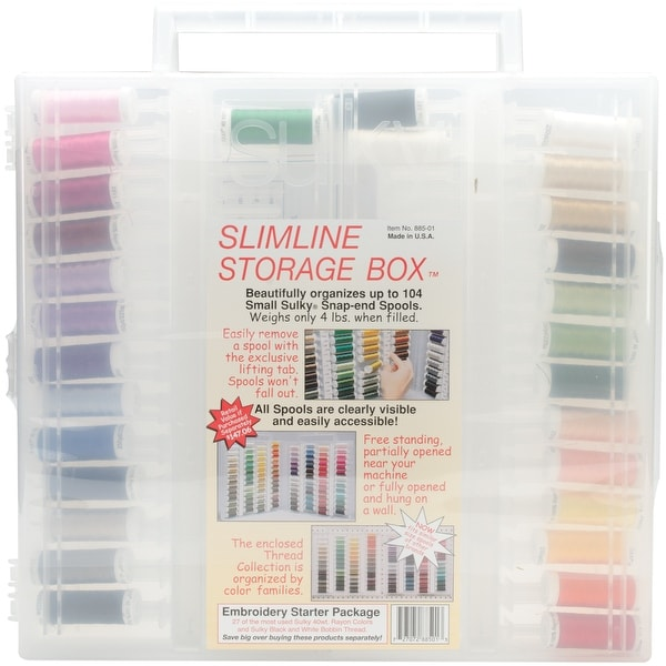Sulky Embroidery Slimline Starter Assortment-