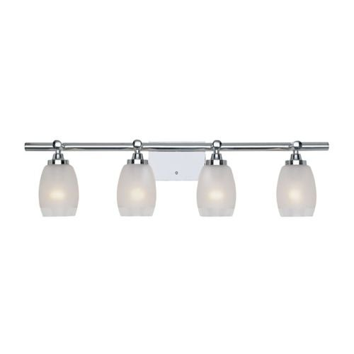 Designers Fountain 6454-CH 4 Light Bath Bar from the Astoria Collection