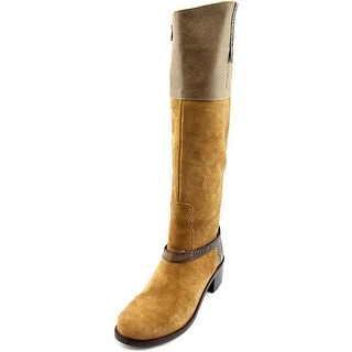 Matisse Nola   Round Toe Leather  Knee High Boot