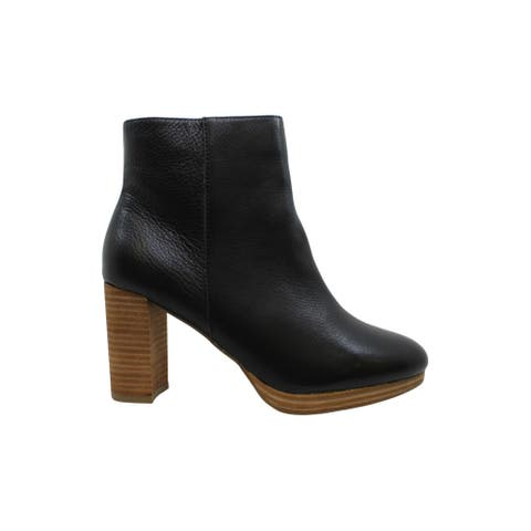 American Rag Women's Shoes Hayes Leather Closed Toe Ankle Fashion Boots