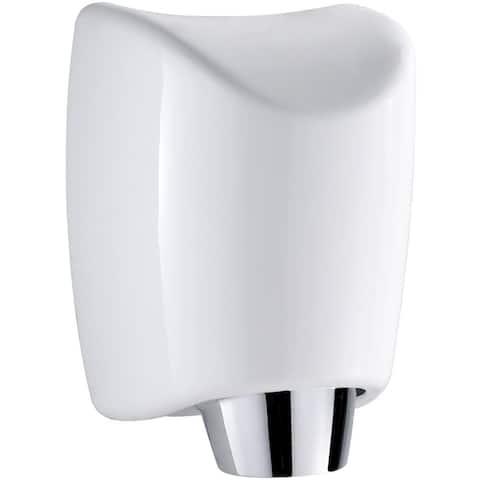 Whitehaus WH555 Sensor Activated Wall Mount Hand Dryer 1200W 110V - White