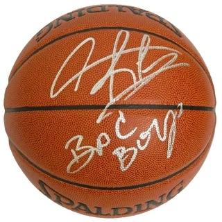 Dennis Rodman Signed Spalding Indoor/Outdoor Basketball w/Bad Boys