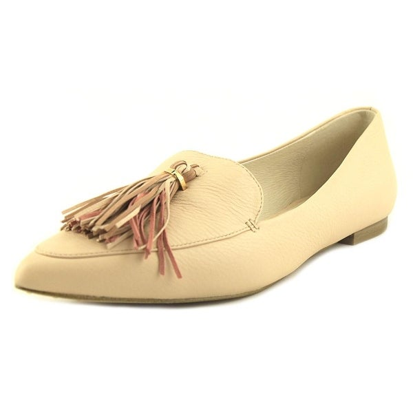Louise et Cie Abriana Women Pointed Toe Leather Pink Loafer