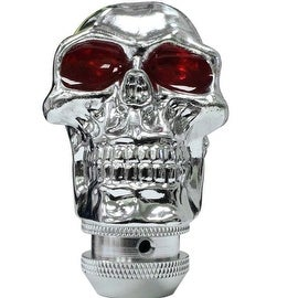 Pilot Automotive Chrome Skull Manual Transmission Shift Knob