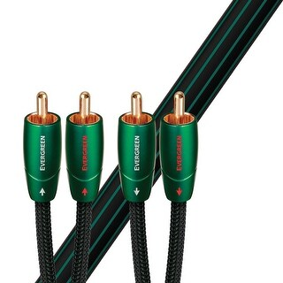 AudioQuest Evergreen RCA to RCA Cable - 8 Meters