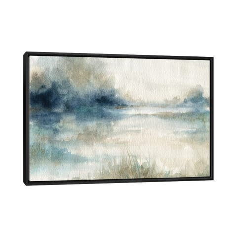 "iCanvas ""Still Evening Waters II"" by Carol Robinson Framed Canvas Print"
