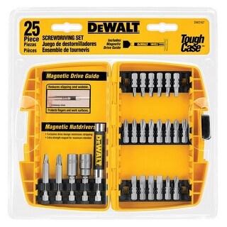 Dewalt DW2167 25 Piece Driving Set Tough Case