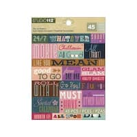 K&Co Studio 112 Sticker Die Cut Word