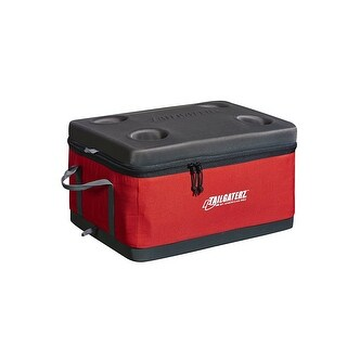 Tailgaterz 4500916 Collapsible Cooler, Red