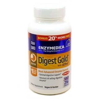 Digest Gold with ATPro By Enzymedica - 216 Capsules