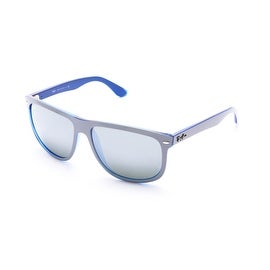 Ray-Ban Hollywood Sunglasses Grey/Blue - Small