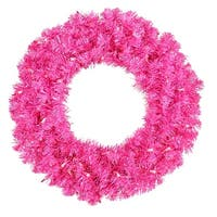 "36"" Hot Pink Wreath Dural 100Pnk"
