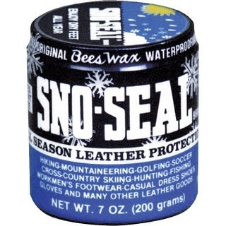 Atsko Sno-Seal Beeswax Waterproofing Jar 7 oz