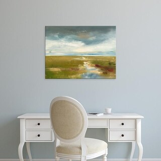 Easy Art Prints Ronda Waiksnis's 'By Flatcreek' Premium Canvas Art