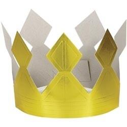 Gold - Birthday Crown 1/Pkg